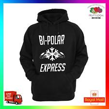 Bipolar Express Hoodie Hoody Hoodie Christmas xmas Hype Trend Fidget Funny Cool