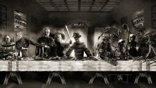 60779 The Last Supper Freddy vs Jason Horror Wall Print Poster CA