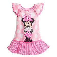 Disney Store Minnie Mouse Nightshirt Nightgown Girls Pink 2017