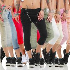 11133 MOZZAAR Damen Jeans sexy Röhrenjeans 7/8 Haremshose Baggy Übergrössen .!