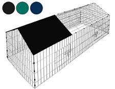 Cage à Lapin Enclos Clapiers pour Animaux Cobaye Furet Tortue Parc 180x75x75cm