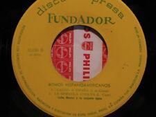 ++LUCHA MONTES Y SU CONJUNTO TIPICO ritmos hispanoamericanos EP FUNDADOR VG++