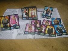 FAN WWE Slam Attax Set (2008) - 12 Cards