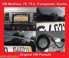 Originales de VW RVC rfk camara de vision trasera nachrüst set t5 Multivan t5.2 Transporter 7e
