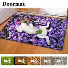 Funny Dogs Mat Rectangle Room Doormat Cute Floor Rug Carpet Non-slip Bathmat NEW