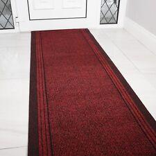 Rouge Long Coureur de Hall Anti - Dérapant Saleté Attrapeur 66cm Largeur Long
