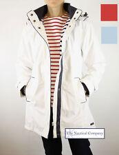 Ladies Waterproof Raincoat Jacket Women Hood White Lined 10/12/14/16/18/20/22/24