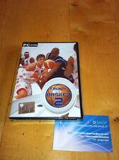 FRONTE DEL BASKET 2_GAME X PC-CD ROM_NUOVO E SIGILLATO! ITALIANO INGLESE