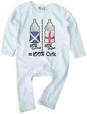 Bebé Pelele 50% Inglés Escocés Welsh Irlandés PERSONALIZAR Cualquier