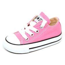 E4136 sneaker bimba CONVERSE ALL STAR pink shoe girl kid