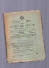 raccolta ufficiale delle leggi e dei decreti del regno d'italia -  1925