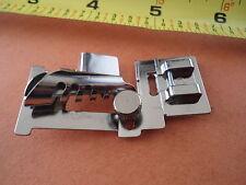 SNAP ON ADJUSTABLE Metal Bias Tape binder foot Kenmore Janome Necchi White Juki