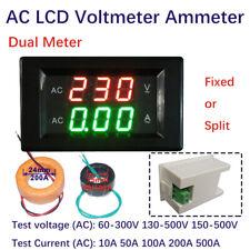 Digital LCD Multimeter Voltmeter Ammeter AC Current Tester Dual Display UK