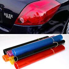 1Pcs Auto Car Smoke Fog Light Headlight Taillight Tint Vinyl Film Sheet Sticker