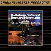 BERNARD HERRMANN Mysterious Film World MFSL 24 KARAT GOLD SEALED AUDIOPHILE CD