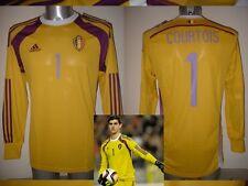 Belgium COURTOIS Adidas S M XL BNWT New Shirt Jersey Football Soccer Chelsea Top