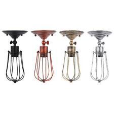 4 Pcs E26/E27 Retro Style Wall Light Lamp 85-240V Sconce Fixture Bar Bulb Collec