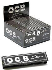 OCB Premium Black King Size Slim Smoking Cigarette Rolling Papers - Multilisting