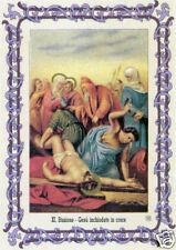 .SANTINO HOLY CARD VIA CRUCIS STAZIONE 11