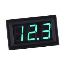 2 fils DC5-120.0V Mini 3 chiffres Digital Voltmeter Volt Meter Panel Car