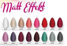Matt Nagellack Mattnagellack 16 Farben zur Auswahl Cosmetica Fanatica 12ml