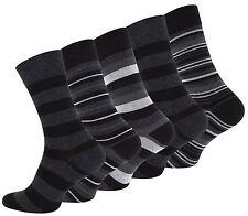 10 oder 20 Paar Herrensocken Business Socken Freizeitsocken Baumwolle Streifen