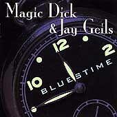 Magic Dick & J. Geils:  Bluestime (Cassette, 1998, Rounder Select) NEW