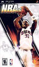 NBA 06 UMD PSP GAME SONY PLAYSTATION PORTABLE 2006 2K6