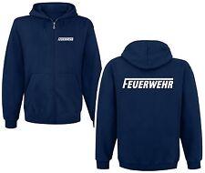 FEUERWEHR  Kapuzenjacke  Sweatshirt  Pullover Hoodie versch. Druckfarben S6