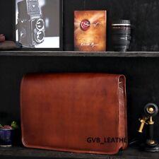 Men's Leather Bag Business Messenger Laptop Shoulder Case Handbag Day Tripper