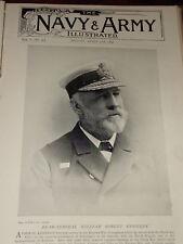 1896 REAR ADMIRAL WILLIAM ROBERT KENNEDY CANTON TAKU &C