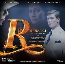 Rebecca - Musical, Gesamtaufnahme Live Palladiumtheater Stuttgart, 2 CD NEU+OVP!