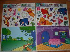 Paper Magic Window Decoration Create a Cling Winnie Pooh NOS U Pick not a Lot