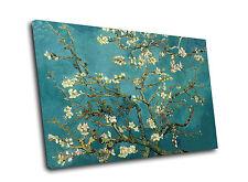 """Vincent Van Gogh """"de floración Almendro"""" Arte Lienzo Impreso"""