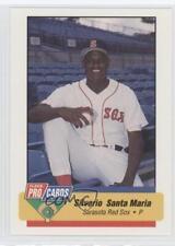 1994 Fleer ProCards Minor League 1949 Silverio Santa Maria Sarasota Red Sox Card