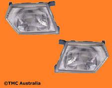Nissan Patrol GU 97 98 99 2000 2001 Head lights Lamps Left Right Hand Side Pair