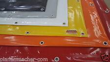 Profi Abdeckplane/Lkw-Plane PVC mit Randverstärkung & Ösen versch. Farben/Maße