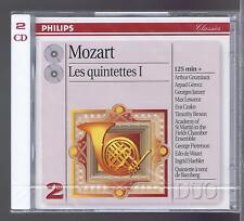 GRUMIAUX 2 CDs NEW MOZART COMPLETE QUINTETS VOL 1