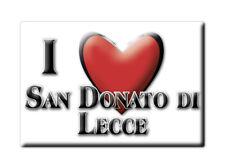 CALAMITA PUGLIA FRIDGE MAGNET MAGNETE SOUVENIR LOVE SAN DONATO DI LECCE (LE)