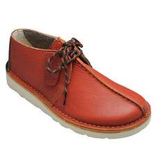 Clarks Originals M ** X DESERT KILVE TREK ** Rust Leather **  UK 7 / 7.5 G