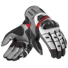 Rev'it! Cayenne Pro Motorbike Motorcycle Leather Gloves Grey Red | Rev it Revit