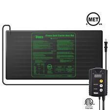 iPower S M L Seedling Heat Mat Waterproof & ETL Digital Thermostat Control Combo