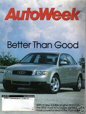 AutoWeek July 30 2001 Audi A4