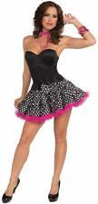 Polka Dot Tutu Skirt 50's Retro Sock Hop Fancy Dress Halloween Costume Accessory