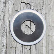 "Mason Jar Soap Dispenser Lid Stainless Steel Regular Mouth Lid, 1"" Hole USA Made"