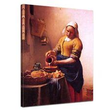 Kunstdruck - Alte Meister - Jan Vermeer - Dienstmagd mit Milchkrug
