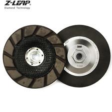 5'' Diamond Dry Grinding Wheel Ceramic Cup Edge Polishing Disc Epoxy Abrasive