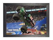 Monster Truck Grave Digger America Poster Pickup Truck Cars Photo Sport Print
