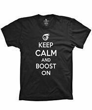Keep Calm and Boost On t-shirt Funny Racing Tee JDM Turbo Shirt