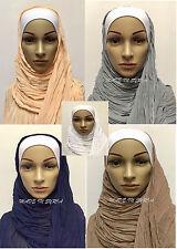 Al tuka écharpe châle place hijab 160 x 70 cm شال التقى حجاب التقى (seulement mis)